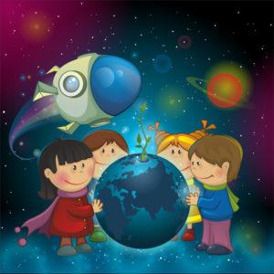 Летние каникулы в Детском космическом центре!